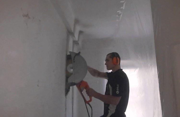 Вырезать проем в стене