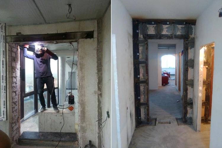 Усиление панельном доме