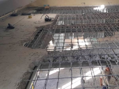 Демонтаж бетонного покрытия