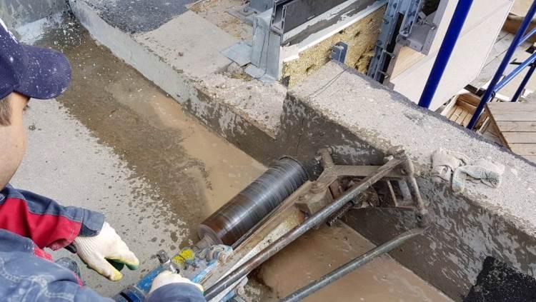 Снос бетона